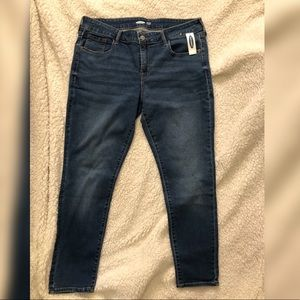 Old Navy Rockstar short Low rise jeans NWT